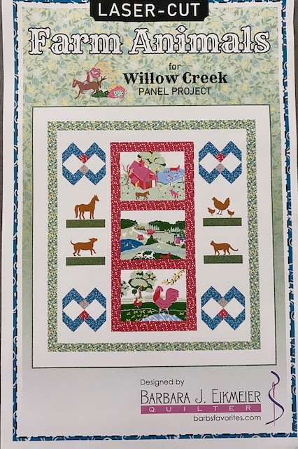 Fusible Appliques for Willow Creek panel project