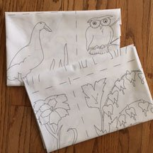 Ruby's Embroidery Panel Twin Pack