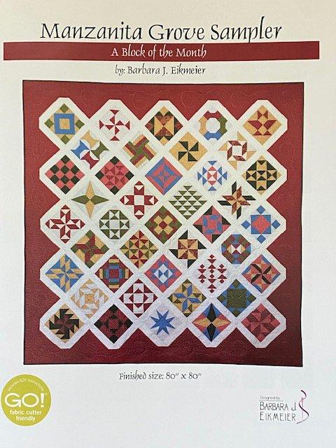 Manzanita Grove Sampler Pattern