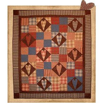 Heart Felt Quilt Pattern by 2 Easy Designs