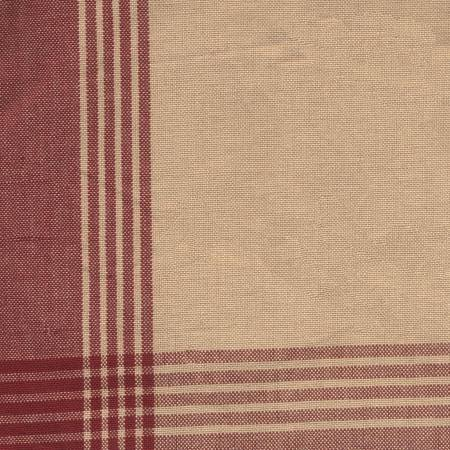 Tea Towel McLeod No Stripe Red/Teadye
