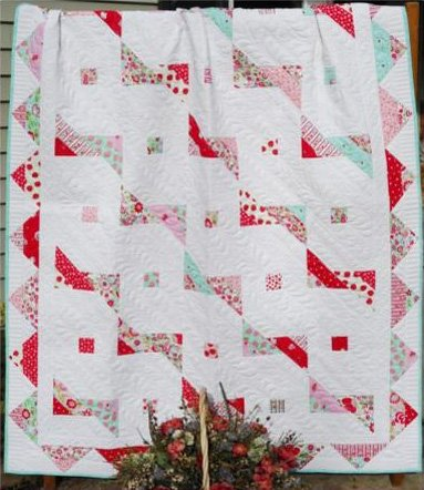 A Banner Day Quilt Pattern in 4 Sizes by Little Louise Designs