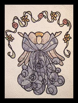 Angel of Mercy Wallhanging Pattern by Another by Anita