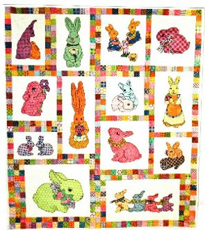 Bunny Quilt Pattern by Another by Anita