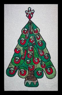 O' Christmas Tree Wallhanging Pattern by Another by Anita
