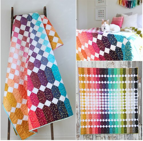 Abacus Quilt Pattern by V and Company