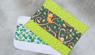 Baby Burp Cloth Pattern by Anything But Boring
