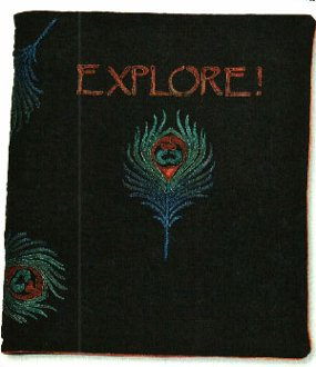Creative Covers Cover for Sketchbooks Journals and More Pattern  by Anything But Boring