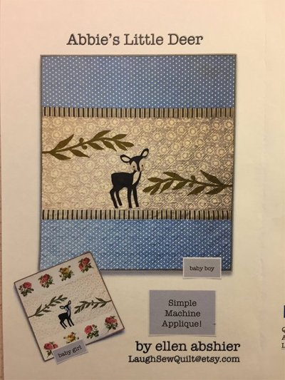 Abbie's Little Deer Quilt Pattern by Laugh Sew Quilt