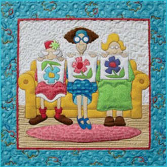1 Little 2 Little 3 Little Quilters Quilt Pattern by Amy Bradley