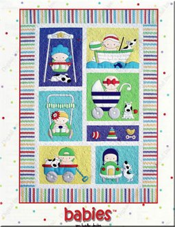Babies Quilt Book by Amy Bradley Designs