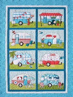 Campers Quilt Pattern by Amy Bradley Designs