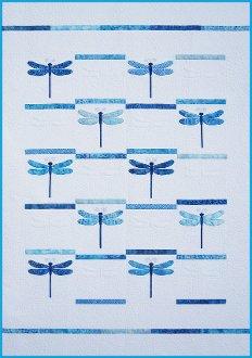 Dragonfly Quilt EPattern by Amy Bradley Designs