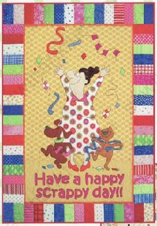 Have A Happy Scrappy Day Quilt Pattern by Amy Bradley Designs