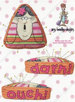 Miss Pinny Pincushion Pattern by Amy Bradley Designs