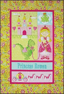 Princess Quilt Pattern by Amy Bradley Designs