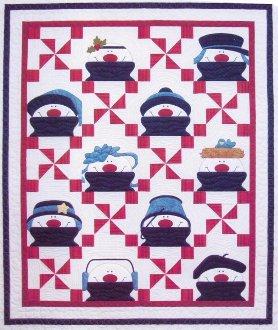Snow Day Sew Day Quilt EPattern by Amy Bradley Designs