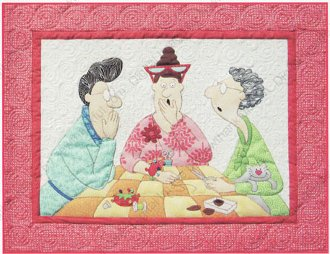 Stitch a Little Talk A Lot Quilt Pattern by Amy Bradley Designs