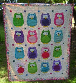 The Hoots Owl Baby Quilt Pattern by Amy Bradley Designs