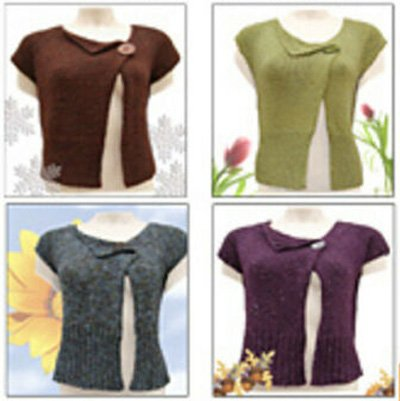 Abigail Top Down Seamless Pullover Knitting Pattern by C2 Knits