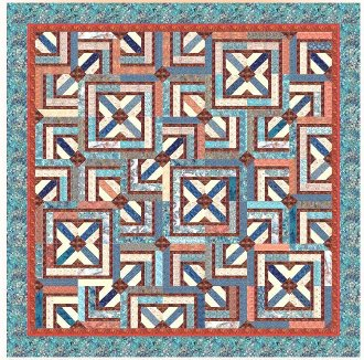 Bali Cream Crackle Quilt Pattern by Among Brenda's Quilts