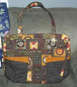 Peek a Boo Bag Pattern by Among Brenda's Quilts