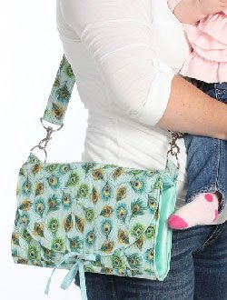 Quick Change Diaper Bag Pattern by Among Brenda's Quilts