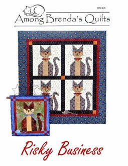 Risky Business Quilt Pattern by Among Brenda's Quilts