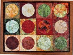 Simply Dry Dish Drying and Mug Rug Pattern in 3 Sizes by Among Brenda's Quilts