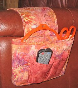 Sofa Saddlebag  Pattern by Among Brenda's Quilts