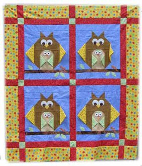 Sweet Peep Baby Quilt Pattern by Among Brenda's Quilts