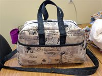 Voyager Bag Duffle Pattern by Among Brenda's Quilts