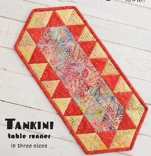 Tankini Tablerunner Pattern by Atkinson Designs