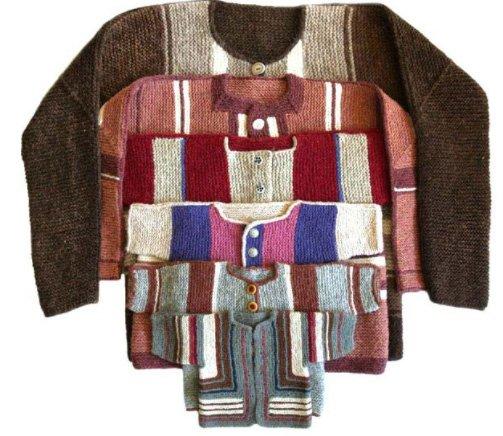 Adult, Baby & Child's Surprise Jacket Pattern by Elizabeth Zimmerman