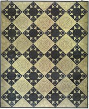 Enchanted Emerald City Quilt Pattern by Among Friends