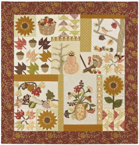 A Graceful Autumn Quilt Pattern by A Graceful Stitch