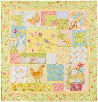 A Graceful Spring Quilt Pattern by A Graceful Stitch