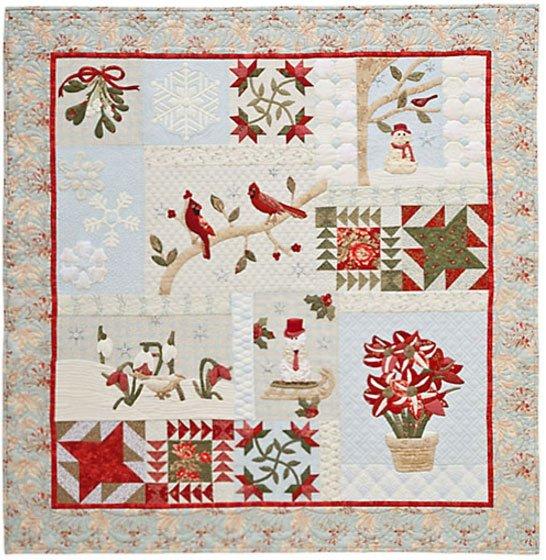 A Graceful Winter Quilt Pattern by A Graceful Stitch