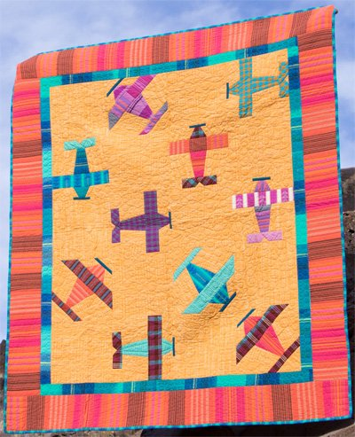 Air Show 2.0 Quilt Pattern in 2 Sizes by ByAnnie