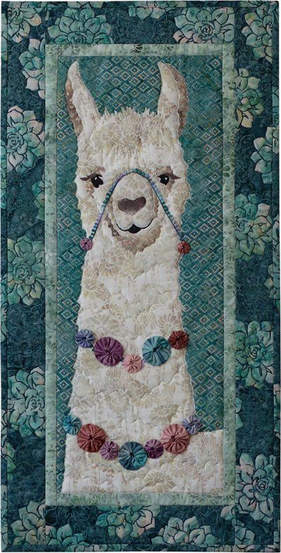 Alejandro Quilt Pattern by McKenna Ryan of Pine Needles Designs