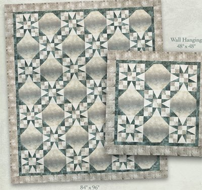 All Roads Lead Home Quilt and Wallhanging Pattern by McKenna Ryan