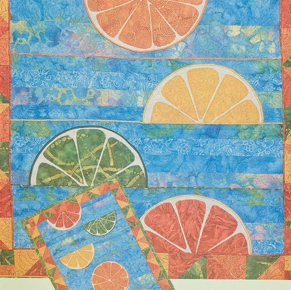 Freshly Squeezed Quilt Pattern by A Little More Effect