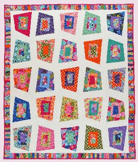 Helter Skelter Quilt Pattern by Abbey Lane Quilts