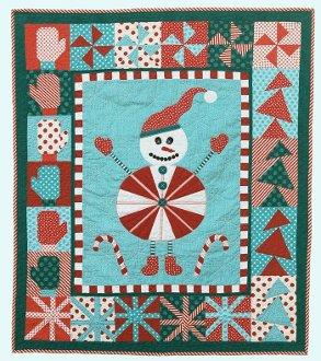 Sebastian Snowman Little Munchkins Little Quilt Pattern by Abbey Lane Quilts