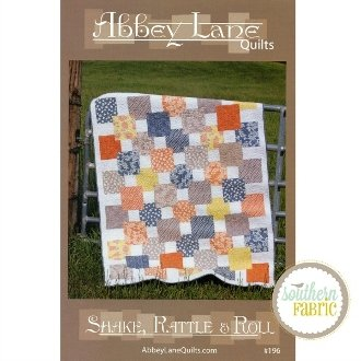 Shake Rattle and Roll Quilt Pattern by Abbey Lane Quilts