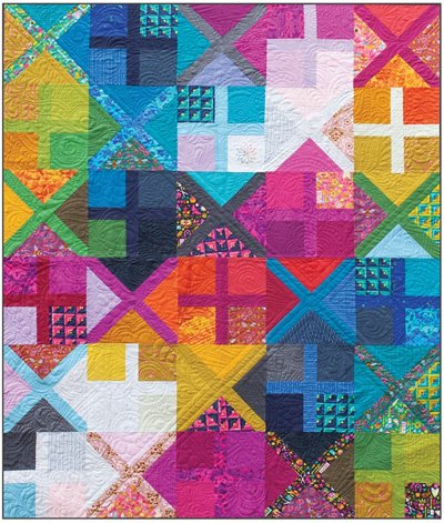 Alternative Quilt Pattern in 3 Sizes by Alison Glass