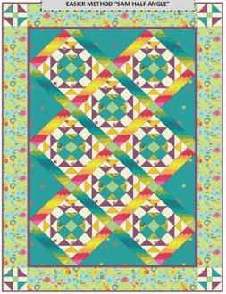 Clover Sunshine Quilt Pattern by Anne Marcellis