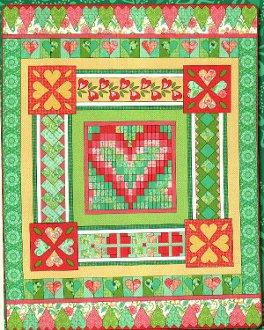 Heart's Delight Quilt Pattern by Amanda Murphy Design