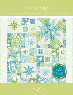 Starry Night Quilt Pattern by Amanda Murphy