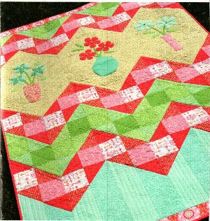 Bouquet Quilt Pattern by Amanda Murphy Design